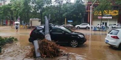 Çin'deki sel felaketinde hayatını kaybedenlerin sayısı 300'ü aştı