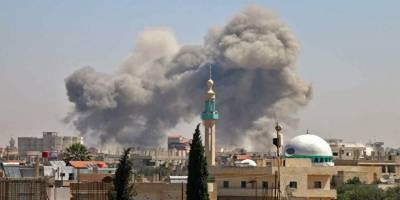 Esed rejimi Dera'da camiyi hedef alarak alçaklığını bir kere daha gösterdi!