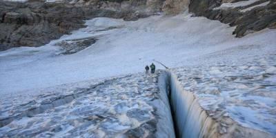 Cilo dağındaki Türkiye'nin en büyük buzulları eriyor