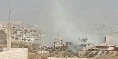 Deraa'da şiddetli çatışmalar sürüyor