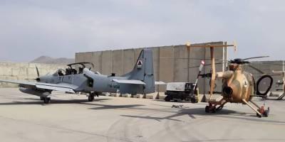 Taliban ABD helikopterleri ile devriye gezdi