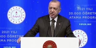 Erdoğan: Okullarımızı açık tutmakta ve en iyi eğitim öğretimi vermekte kararlıyız