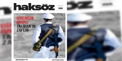 Haksöz dergisinin Eylül 2021 sayısı çıktı