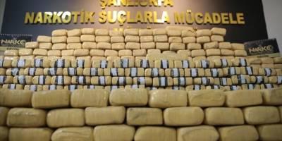 Urfa'da 275 kilogram eroin ele geçirildi