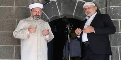 Ulu Camii'de çifte ezan okundu