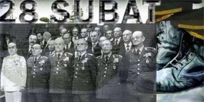 12 Eylül'ün faşist, 28 Şubat'ın kahraman generalleri!