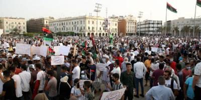Temsilciler Meclisi'nin güvenoyu kararı Trablus'ta protesto edildi