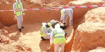 Terhune'de iki toplu mezar daha bulundu