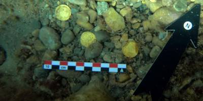 Amatör dalgıçlar Batı Roma İmparatorluğu'nun en büyük hazinelerinden birini keşfetti