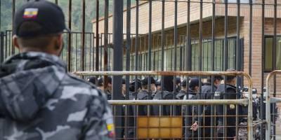 Ekvador'da cezaevinde çeteler arasındaki çatışmada 24 kişi öldü, 48 kişi yaralandı