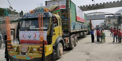 Kızılay'dan Afganistan'a 33 tonluk gıda yardımı