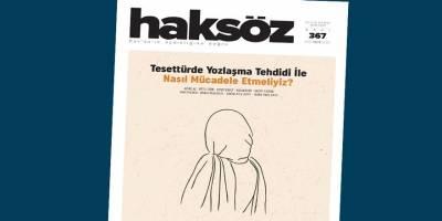 Haksöz dergisinin Ekim 2021 sayısı çıktı