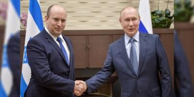 """Putin: Suriye'de İsrail'le """"terörle mücadelede"""" ortaklık söz konusu"""