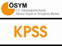 KPSS'de Eğitim Testi 80'e Düşüyor