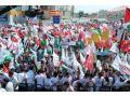 Siyonistler Çağlayan Protesto Edildi