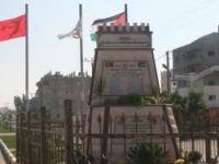 Mavi Marmara Şehitlerimize Gazze'de Anıt