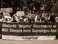 Özgür-Der'den Milli Güvenlik Dersleri Açıklaması