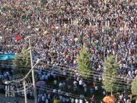 Diyarbakır Halkı Kuran İçin Meydanlardaydı