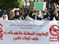 "Fas'ta ""Terör Kanunu"" Protestosu"
