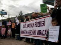 Tokat'ta NATO'nun Füze Kalkanına Protesto