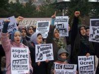 TOKAD, Asgari Ücreti Protesto Etti