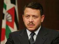 Ürdün Kralı Abdullah Batı Şeria'da
