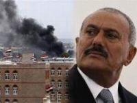 Yemen'de Devrik Cumhurbaşkanı Salih'in Evi Vuruldu