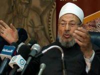El-Karadavi: Şerefliler arasında size yer yok!