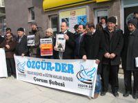 İskilipli A. Hocaya Yönelik İthamlara Protesto
