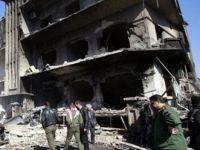 Şamda Muhaberat Merkezi Önünde Patlama
