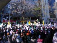 Ankarada Suriye İntifadası Selamlandı