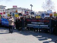 Sivastan Suriye Halkına Destek Eylemi