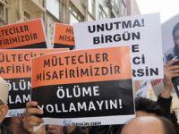Mültecilerin İade Edilmesi Fatih'te Protesto Edildi