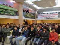 Kâğıthane'de Suriye Halkıyla Dayanışma Gecesi