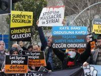 Taksim Eylemi: Suriye Halkı Direnişle Özgürleşecek!