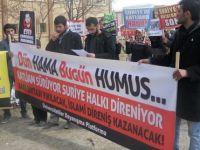 100. Yıl Üniversitesinde Suriye Halkına Destek