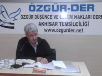 Akhisar Özgür-Der Eyyub (as) Kıssası İşlendi