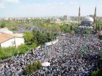 Diyarbakır'da Kutlu Doğum Meydana Sığmadı