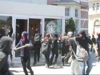 Anarşistler Şişlide İş Yerlerine Saldırdı
