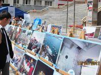 Çorumda Suriye ve Mavi Marmara Konulu Sergi