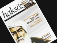 Haksöz Dergisi Şeyh Said'i Kapağa Taşıdı!