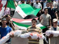 Suriyede Şehit Cenazesini Bombaladılar (VİDEO)