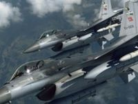Suriye Helikopteri Göründü, F-16'lar Kalktı!