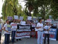 Sapanca'da Hama Katliamı Protesto Edildi