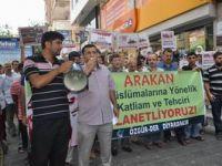 Arakan Soykırımı Diyarbakır'da Protesto Edildi