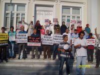 Sakarya'da Arakan'daki Katliam Protesto Edildi