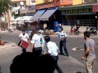 İzmir Karabağlar'da Polis Dehşeti