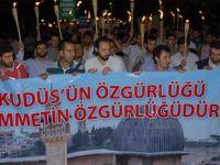 Kudüs'ün Özgürlüğü İçin Fatih'te Yürüyüş