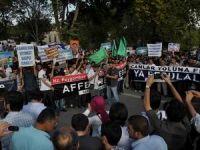 Resule Hakaret İçerikli Filme Fatih'te Protesto