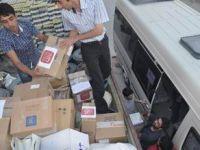 Özgür-Der'den Suriyeli Muhacirlere Yardım